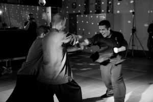 Kung Fu - démonstration juin 2012 - casse - Adrian
